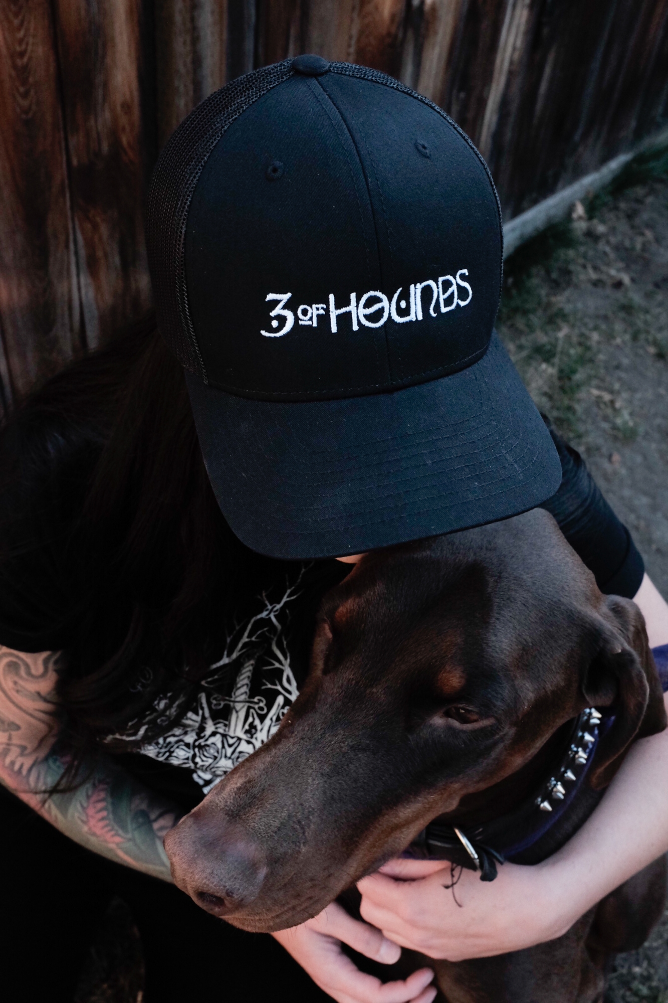 3 of hounds - merch photo